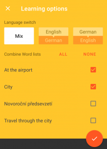 vocabulary miner screenshot